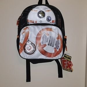 Star Wars kids backpack. New. Lights and sounds